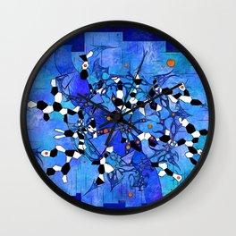 Katelous - frozen snake world Wall Clock