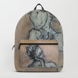 Sexy, Strong, Sleepy (oil on canvas) Backpack