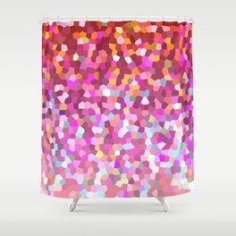 Mosaic Sparkley Texture G148 Shower Curtain