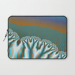 Fractal Forest Abstract Art Laptop Sleeve