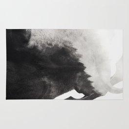 Minotaur (Black & White) Rug