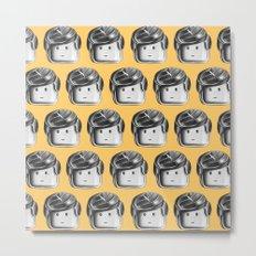 Minifigure Pattern – Yellow Metal Print