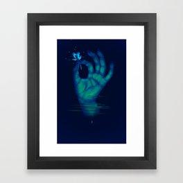 Divinator's Sage (I WANNA BE YOUR LIGHT) Framed Art Print