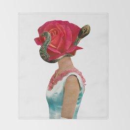 Cobra Head Throw Blanket