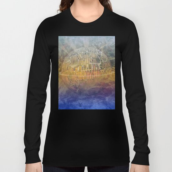 Atlante 11-06-16 / SUBAQUATIC - AERIAL Long Sleeve T-shirt