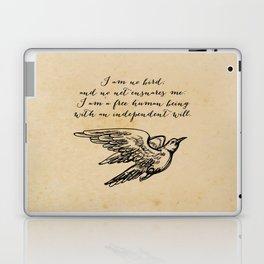 Jane Eyre - No bird - Bronte Laptop & iPad Skin