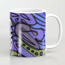 Make Art for Yourself (blue) Coffee Mug