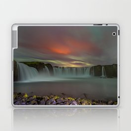 Godafoss Night 4 Laptop & iPad Skin
