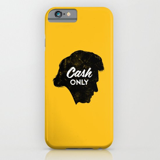 Cash Only (Gold) iPhone & iPod Case