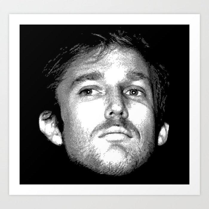 Young Donald Trump Kunstdrucke