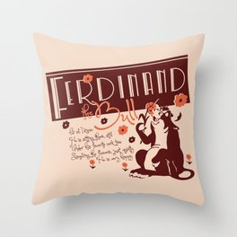 Ferdinand Throw Pillow