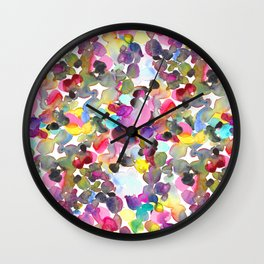 Color stone Wall Clock