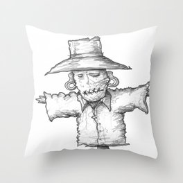 Scarecrow Recon #1 Throw Pillow