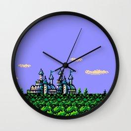 Magical Castle Wall Clock