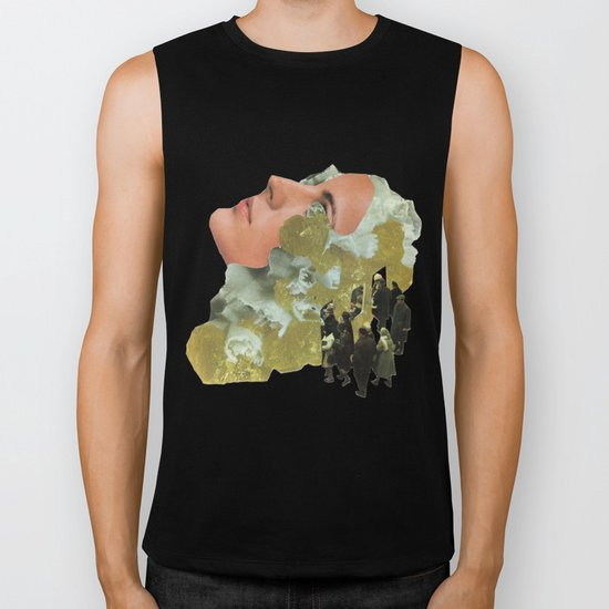 Brain Ticket Biker Tank