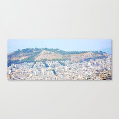 Athens and me Canvas Print