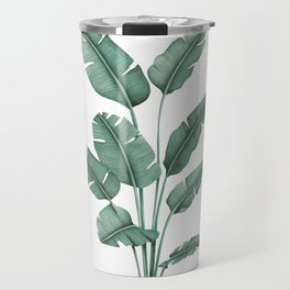Tropical Palm Tree Travel Mug