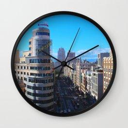 La Gran Via Wall Clock