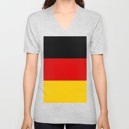 German Flag - Flag of Germany Unisex V-Neck
