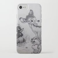bambi iPhone & iPod Cases featuring Bambi by Lynsie Petig