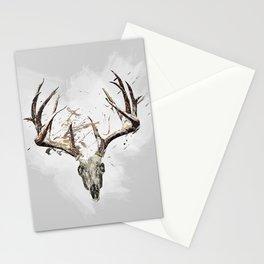 King of the Forrest - Trophy Buck - Deer Stationery Cards
