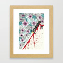 Rurouni Kenshin fanart Framed Art Print