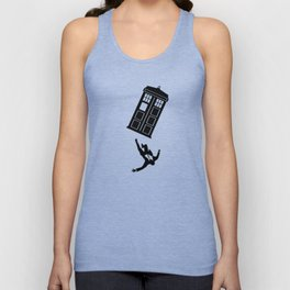 Doctor Who - Mad Men Unisex Tank Top