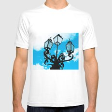 HEAVEN Mens Fitted Tee SMALL White