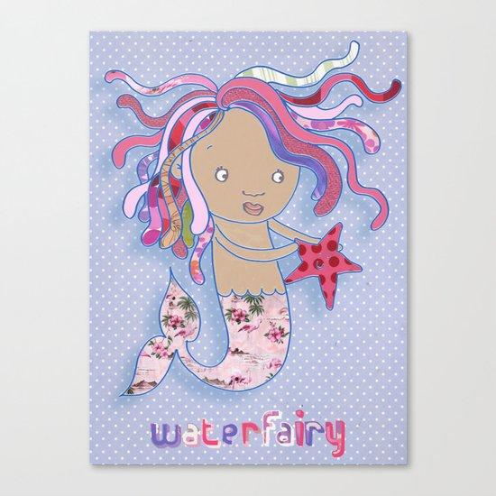 Water Fairy Mermaid Canvas Print
