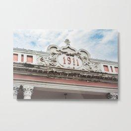 1911 Building Metal Print