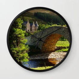 Cairngorms Natural Park, in the heart of the Scottish Highlands Wall Clock