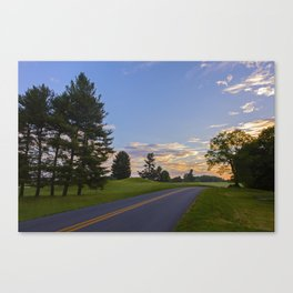 Sunrise Ahead Canvas Print