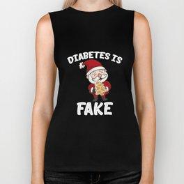 Diabetes Is Fake Biker Tank