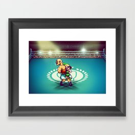 Punch-Out!! Framed Art Print
