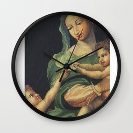 Roman Art - in Watercolor Wall Clock