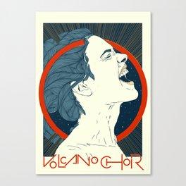 Volcano Choir Canvas Print