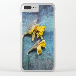 Daffodil Clear iPhone Case
