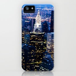 Lower Manhattan From the Empire State Building iPhone Case