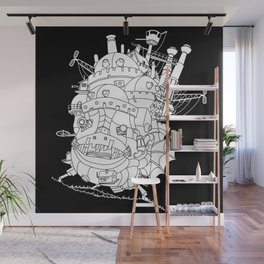 Howl's Moving Castle Wall Mural