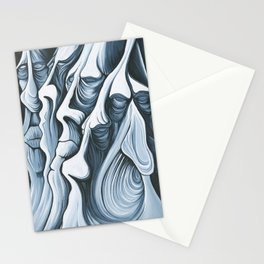 Mountain Faces Stationery Cards