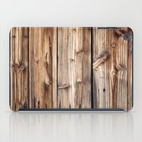 wood iPad Cases featuring Wood by Patterns and Textures