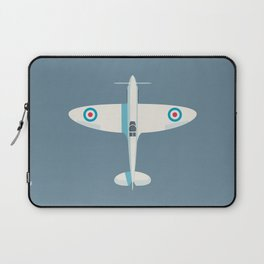 Supermarine Spitfire WWII fighter aircraft - Slate Laptop Sleeve