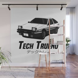 Tech Trueno Wall Mural