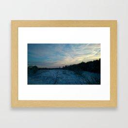 This winter's gonna hurt like a m... Framed Art Print