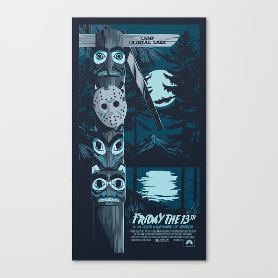 FRIDAY THE 13TH (01) Canvas Print