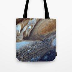 Jupiter's Red Spot Tote Bag