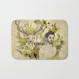 Romain & the deer Bath Mat