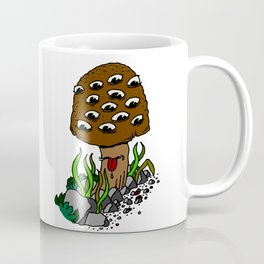 mushroom eyes Coffee Mug