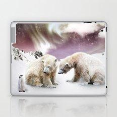 Polar Bears and Penguin Laptop & iPad Skin