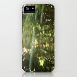 Moving Trees  iPhone Case
